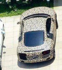 Леопардовая машина Джастина Бибера