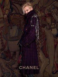 Необычный образ от Chanel