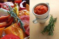 Соус из запеченых овощей