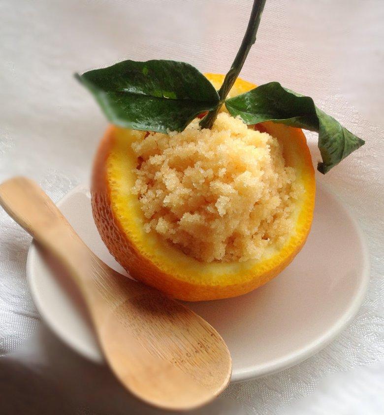 Апельсиновый скраб для тела