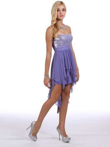 Платье лавандового цвета на выпускной