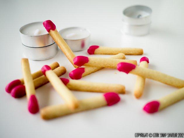 Рецепт приготовления печенья в виде спичек