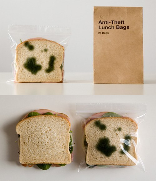 «Противоугонные» пакеты для сэндвичей