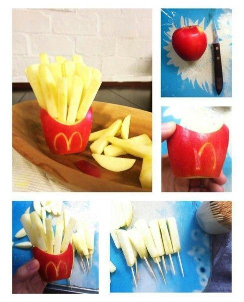 Обман во благо: первая в мире полезная картошка фри