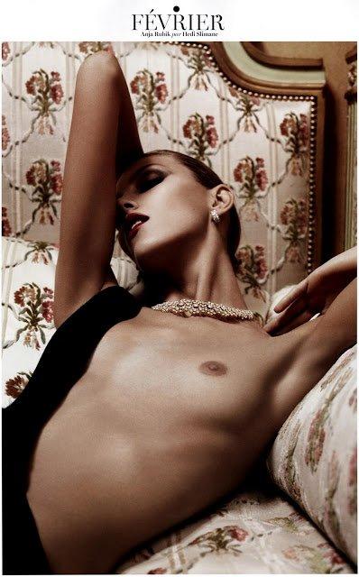 Календарь Vogue 2013: Аня Рубик