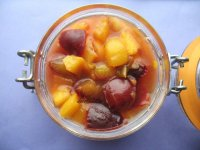 Персиково-сливовое варенье на зиму