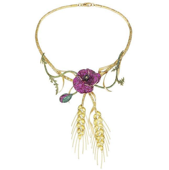 Ожерелье Chopard из коллекции Red Carpet