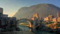 Всемирное наследие ЮНЕСКО: старый мост в Мостаре (Босния и Герцеговина)