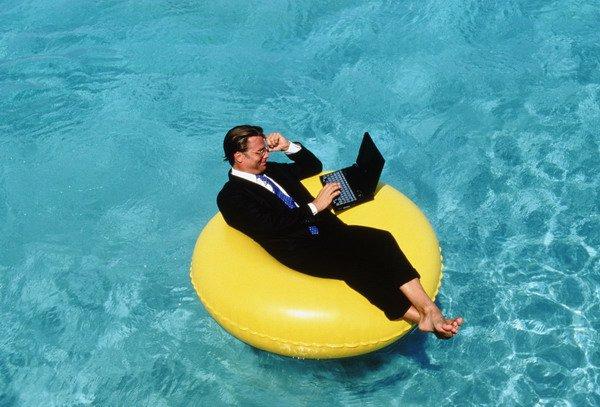 Как заставить себя работать летом