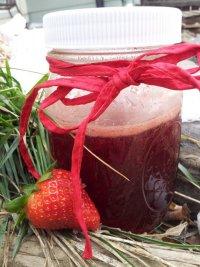 Домашний клубничный сироп