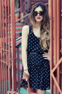 Тренд-2013: платье в горох