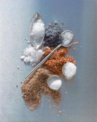 Каменная и морская соль