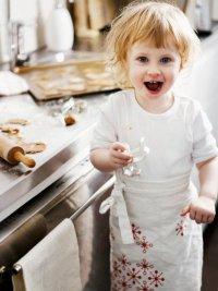 Игры с ребенком на кухне: запоминалка