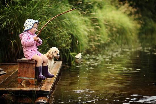 Рыбалка с ребенком: правила и советы