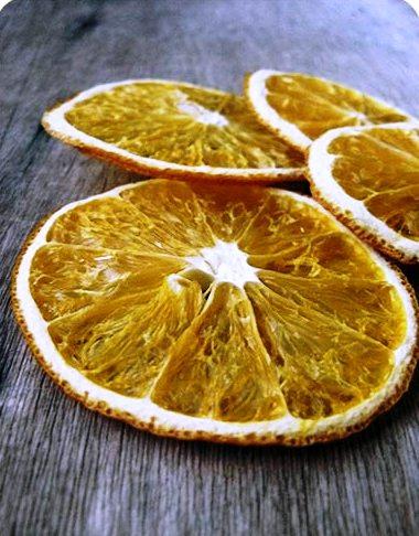 Как правильно высушить апельсин