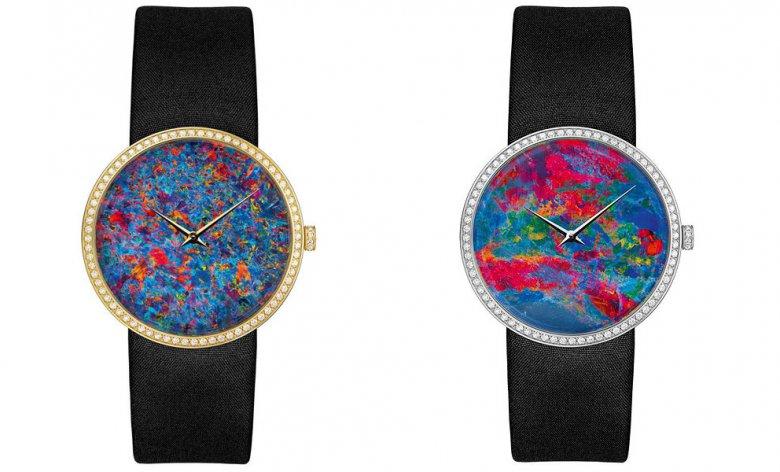 Часы La D de Dior с циферблатом из австралийского опала