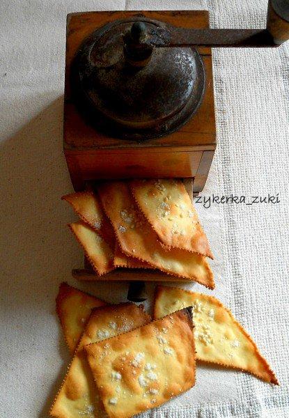 Крекеры из нутовой и рисовой муки