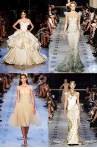 Новые свадебные платья от Зака Позена