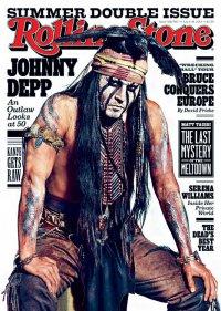 Джонни Депп на обложке журнала Rolling Stone