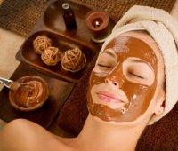 Омолаживающая маска для лица из кофе и какао