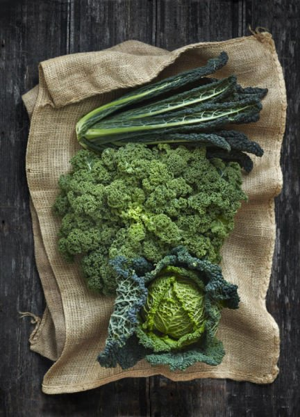 Кальций в овощах