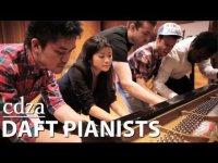 5 пианистов и 1 кавер на песню Get Lucky Daft Punk
