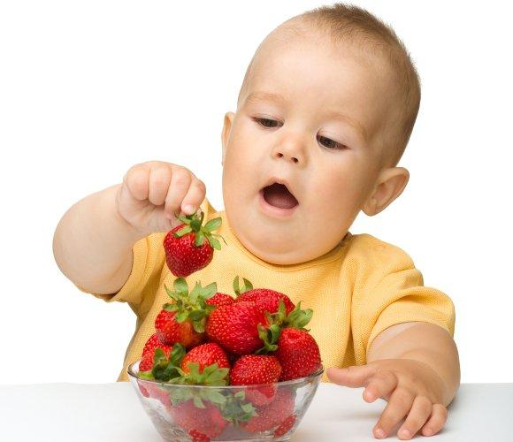 Аллергия на ягоды у детей
