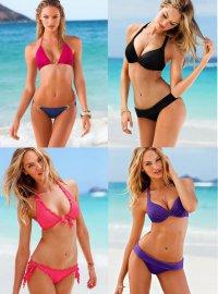 Кэндис Свейнпол для Victoria`s Secret: июнь 2013