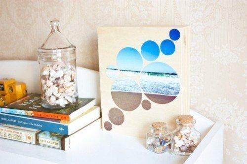 Идея для создания картин с морскими пейзажами своими руками