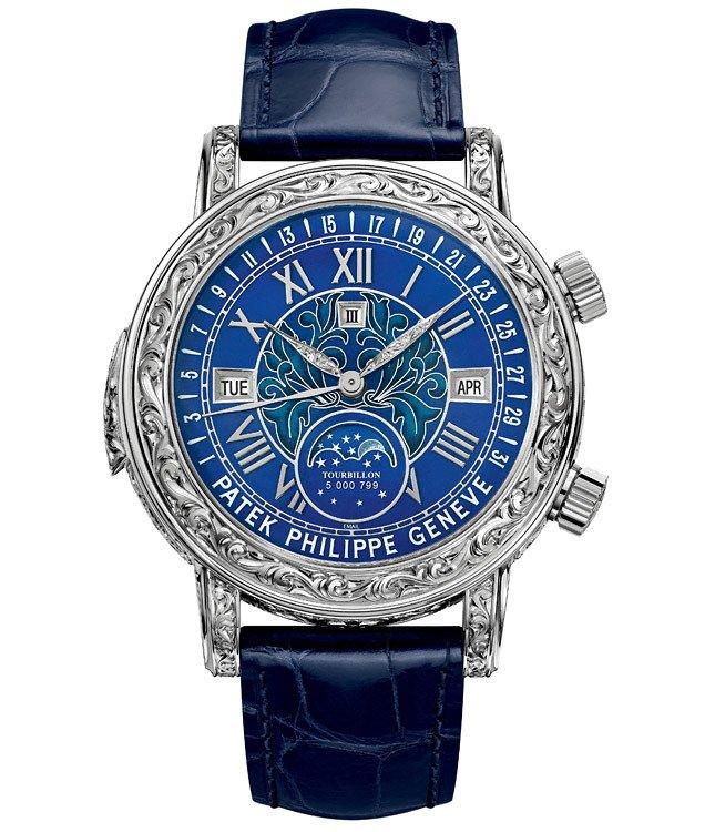 Роскошные часы Patek Philippe Sky Moon Tourbillon Ref. 6002