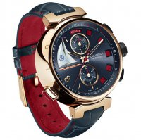 Уникальные часы Tambour Spin Time Regatta 2013 от Louis Vuitton