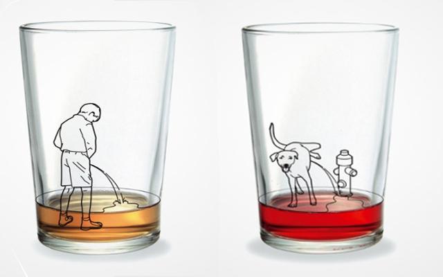 Креативные стаканы