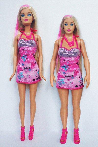 Кукла Барби с реальной внешностью