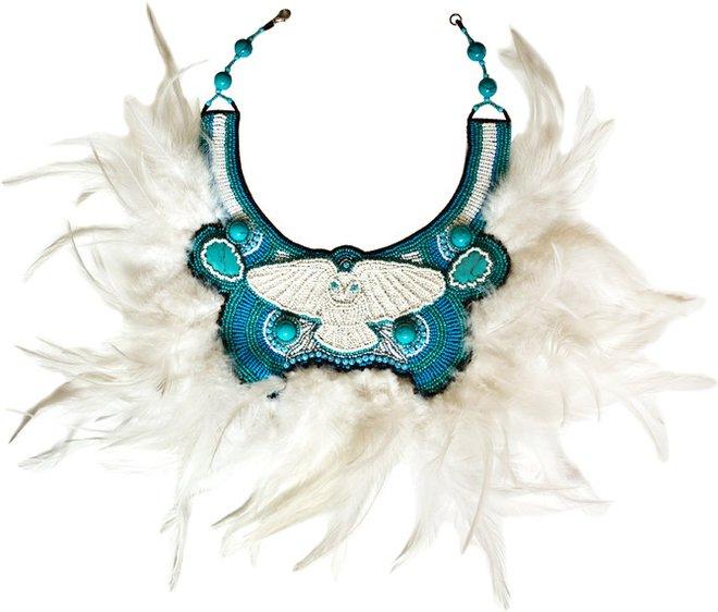 Украшения с перьями - коллекция Masterpeace