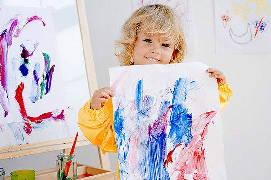 Детский рисунок: цвета