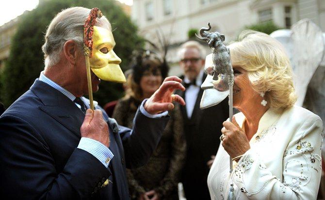 Брачные игры: принц Чарльз и герцогиня Камилла
