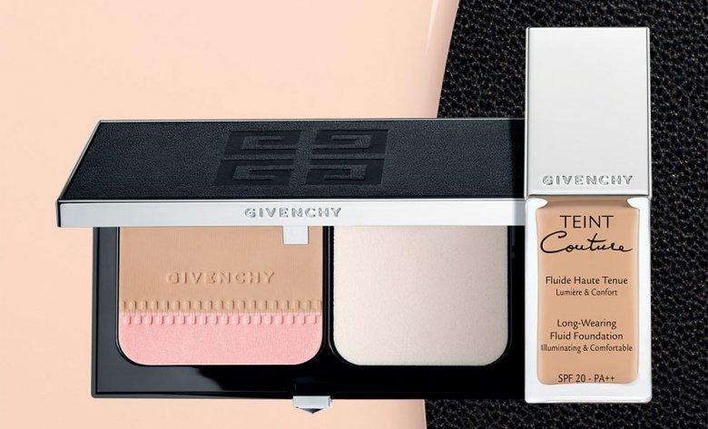 Тональный крем и пудра Teint Couture от Givenchy