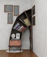 «Ленивые» книжные полки