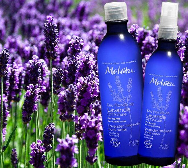 Цветочная вода Melvita