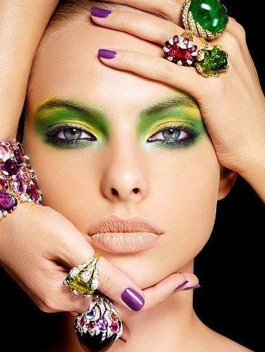 Как подобрать макияж под цвет волос и глаз