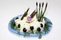 Салат «Рыбки в пруду»
