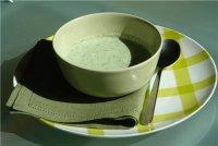 Сметанно-огуречный летний суп