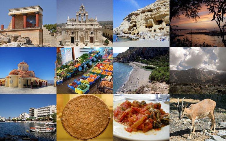 Греция: туристические районы