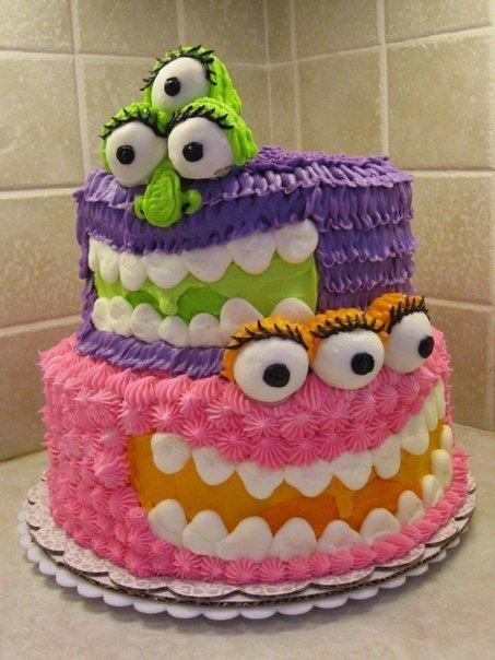 Торт-монстр