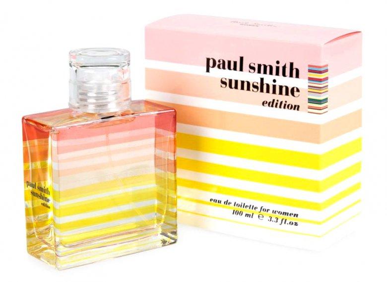 Полосатый парфюм Sunshine от Paul Smith