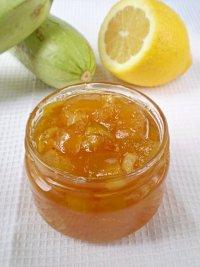 Заготовки на зиму: кабачковое варенье с лимоном