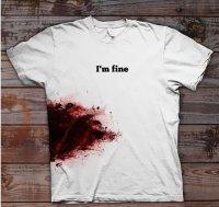 «Кровавая» футболка