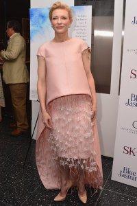 Кейт Бланшетт в плену  у платья