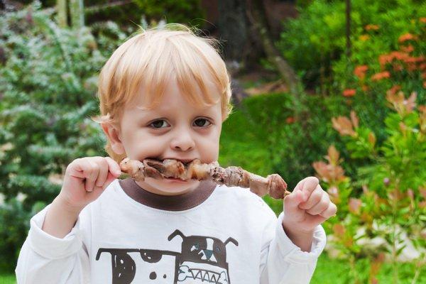 Мясо в рационе ребенка