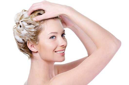 Домашний шампунь для блондинок
